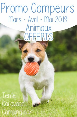 PROMO CAMPEURS ANIMAUX OFFERTS